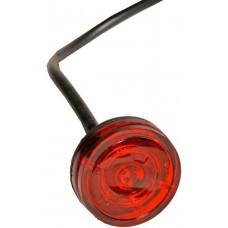 Задний красный контурно-габаритный фонарь Aspock Monopoint II Rot Flach LED 60330