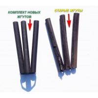 Замена жгутов резино-жгутовой оси легкового прицепа