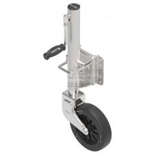 Винтовое опорное колесо Knott Autoflex TK51-210/50 M, 150кг, фланец