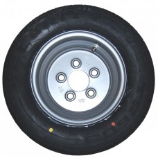Колесо R10 для легкового прицепа HP-Trailer. Шина Security Tyres 195/55 R10C 98/96N, Диск Mefro 6.00 x 10H2 5x112 R10-3