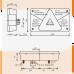 Фонарь задний трехсеционный Aspock Multipoint V правый для прицепа 10695