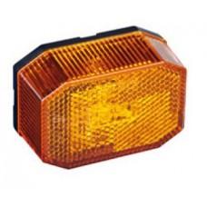 Боковой оранжевый контурно-габаритный фонарь Aspock LED с отражателем 60204