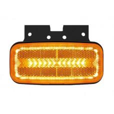 Боковой оранжевый габаритный фонарь Fristom FT-080+K LED
